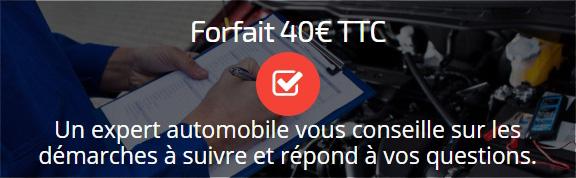 Forfait 40€ - Conseils d'expert